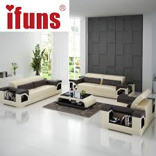 ifuns big size 1 2 3 sectional sofas direct factorymodern design top grain quality leather living room furniture for home big living room furniture living room