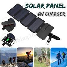 <b>Portable Foldable</b> Solar Panel Power Charger For <b>Phone</b> MP3/MP4 ...