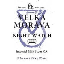 <b>Night Watch</b> III - Velka Morava - Untappd