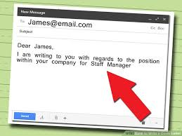 image titled write a cover letter step 2 what to write on a covering letter