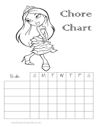 chore charts for kids this is a weekly chore chart space to add a chore list age approppriate chores and mark the chores completed each day hello kitty