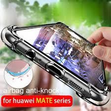 <b>Airbag</b> anti knock <b>shockproof clear tpu</b> phone case for huawei mate ...