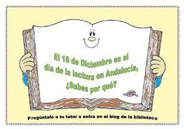 Resultado de imagen de dia de la lectura en Andalucía