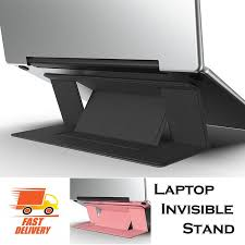 Adjustable Laptop Stand Laptop Pad Adhesive Invisible Stands ...