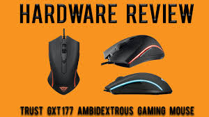 Hardware Review: <b>Trust GXT 177</b> Ambidextrous Gaming Mouse ...