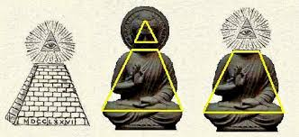 Highest level of French Freemasonry is full lotus yoga pyramid power