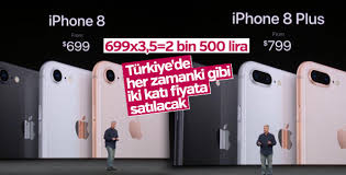 iPhone 8'in fiyatı belli oldu