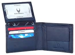 WildHorn® RFID Protected Genuine High Quality Leather Wallet ...