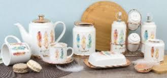 Коллекция <b>керамической</b> посуды «<b>Перья</b>»