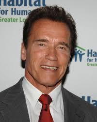 Arnold Schwarzenegger  - 2018 Dark brown hair & casual hair style.
