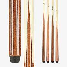 Players Set of <b>1 Piece</b> Pool Cue Sticks - Professional <b>Quality</b>