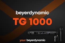 Цифровая <b>радиосистема beyerdynamic TG</b> 1000 – что нового