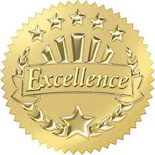 Image result for symbol of award of excellence
