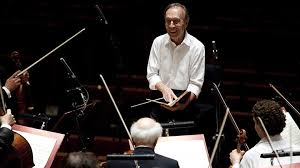 Concert <b>Claudio Abbado</b> conducts <b>Mozart's</b> Requiem at the Lucerne ...