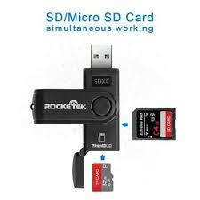 <b>SD</b> 卡读卡器Micro USB 内存适配器2 SDHC 1 TF MS <b>0</b> Flash 多口3 ...