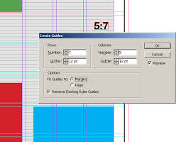 how to match my layout grid my margins columns and baseline margins guides