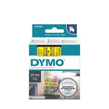 <b>DYMO</b> S0720980 - <b>картридж D1</b> с лентой (желтая, шрифт черный)