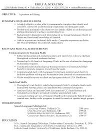 functional resume example  editingexample functional resume editing