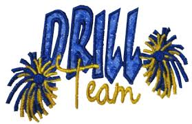 Image result for middle school drill team clipart