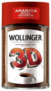 <b>Кофе растворимый WOLLINGER 3D</b> сублимированный ...