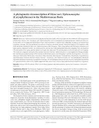 (PDF) A phylogenetic circumscription of Silene sect. Siphonomorpha ...