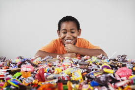 Image result for children eating sweets