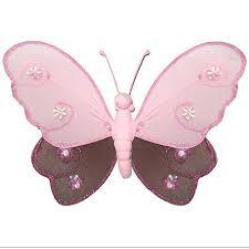 bathroom art decor part wall  nylon butterflies decorations decorate baby nursery bedroom girls roo