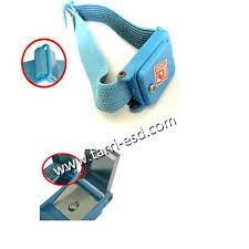 <b>ESD wrist strap</b> and heel grounder