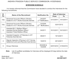 request letter for interview schedule sample voor sample first appsc material interview schedule for various recruitments