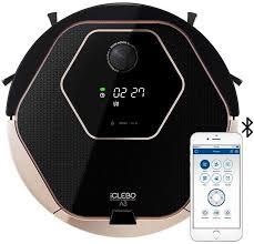 Купить <b>Робот</b>-<b>пылесос ICLEBO A3</b>, черный/бежевый в интернет ...