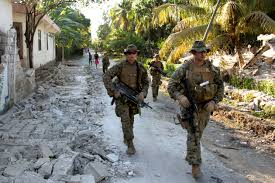 u s department of defense photo essay u s marines conduct a survey of the area in leogane jan 24