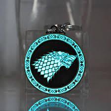Fashion Women <b>Men Jewelry keychain</b> Game of Thrones keyring ...