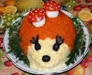 Вкусный салатик на день рождения детям