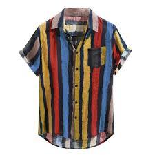 Buy Sunward <b>Men T</b>-<b>Shirt</b> Spring <b>Summer</b>, <b>Mens Loose</b> Multi Color ...