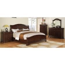 piece emmaline upholstered panel bedroom: picket house caspian  piece bedroom set with low footboard