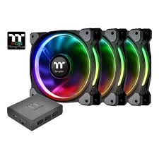 <b>Вентилятор</b> для корпуса <b>Thermaltake Riing</b> Plus 12 LED RGB ...