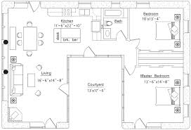 Floor Plan Shaped House Plans  Getmobilenow coU Shaped House Plans Design