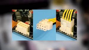 Питание видеокарты и переходники Molex 6 Pin PCIE и Molex 8 ...