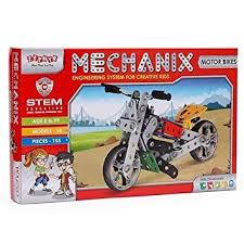 Buy Mechanix <b>Motorbikes</b>, 155 Pieces Online at Low Prices in India ...