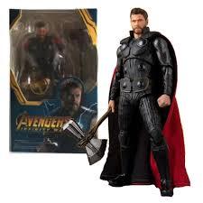 The <b>Avengers Endgame</b> Hero Thor Infinity War 15CM PVC Action ...