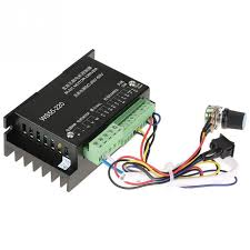 WS55 220 <b>DC</b> Motor Driver <b>DC 48V</b> 500W CNC <b>Brushless</b> Spindle 3 ...