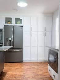 black appliance matte seamless kitchen: love the slate appliances from ge no fingerprints and the inside of these cabinets are so awesome i need to figure out how to make this kitchen mine
