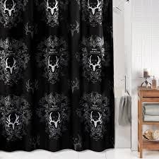 Skull Bathroom Decor Skull Shower Curtain Hooks