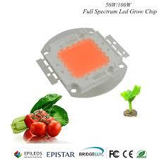 Hydroponice 1W <b>3W</b> 5W 50W/100w Led Grow Chip Epistar 35mil ...