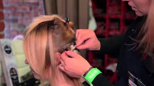 Волосы на заколках от HAIRSHOP - YouTube