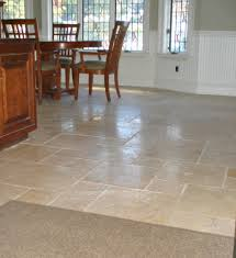 Flooring For Dining Room Fresh White Kitchen With Marble Floors 14415