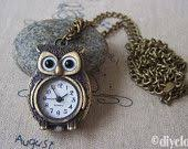 1970's Turquoise Owl Pendant Necklace - Bird Jewelry Womens ...
