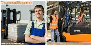 student summer job opportunities work safe training inc student summer job opportunities