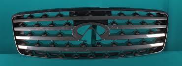 <b>Решётка радиатора</b> хром <b>темная</b> Infiniti Fx 35 - Инфинти Фх35 ...