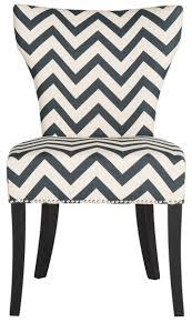 chevron dining chairs set
